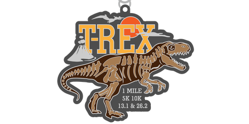 2019 Dinosaur! T-Rex 1M, 5K, 10K, 13.1, 26.2 - Boise City