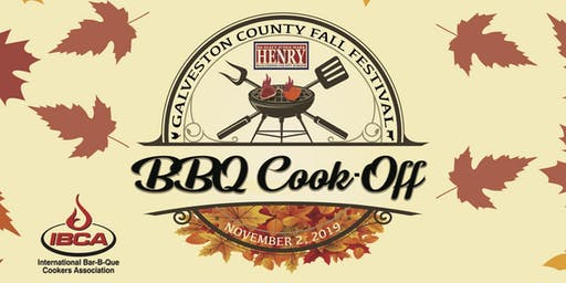 Galveston County Fall Fest & BBQ Cook-Off Registration