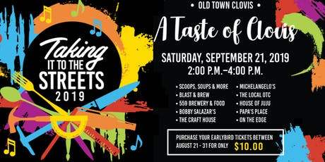 A Taste of Clovis - Taking it to the Streets 2019 tickets