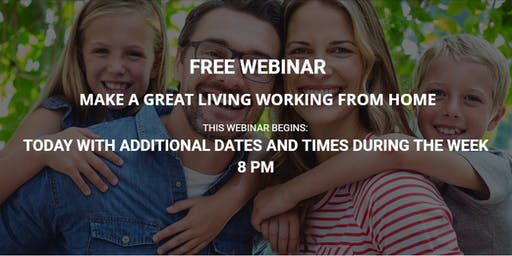 MAKE A GREAT LIVING WORKING FROM HOME