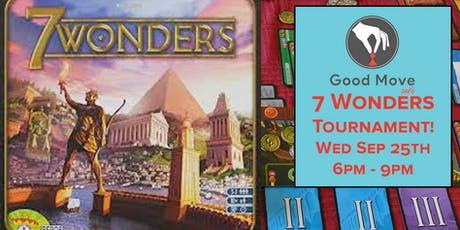 7 Wonders Tournament September 25th! tickets