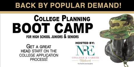 Virtual NRE College Bootcamp for High School Seniors & Juniors 2019 tickets