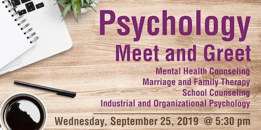 Psychology Meet and Greet - Prospective Students