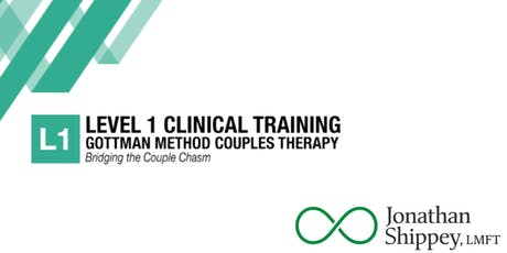 Level 1: GOTTMAN COUPLES THERAPY Bridging the Couple Chasm tickets
