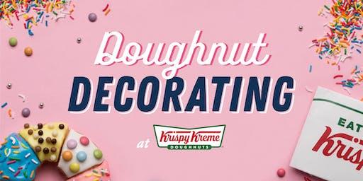 Krispy Kreme Doughnut Decorating
