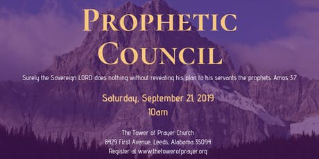 Prophetic Council tickets