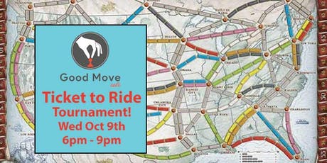 Ticket to Ride Tournament October 9th! tickets