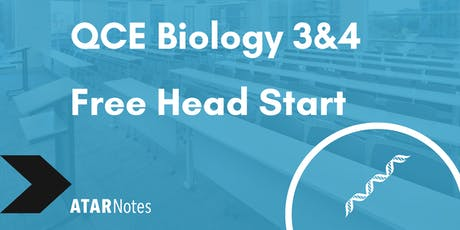 FREE QCE Biology Units 3&4 Head Start Lecture tickets