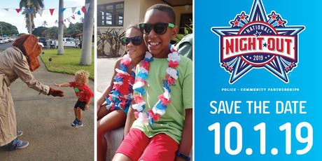 Rescheduled Hickam Communities National Night Out 2019 tickets
