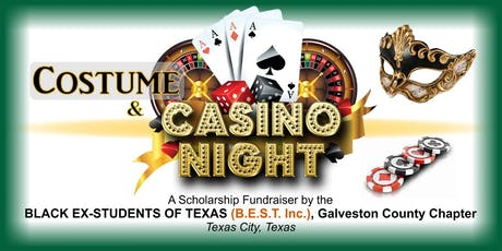 Costume & Casino Night hosted by B.E.S.T., Inc. Galveston County tickets