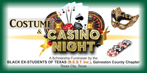Costume & Casino Night hosted by B.E.S.T., Inc. Galveston County