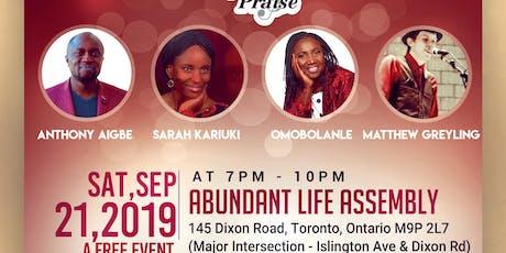 Lift Up Praise Concert tickets