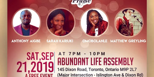 Lift Up Praise Concert