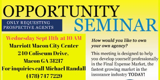 Universal Benefits, Inc. Opportunity Meeting