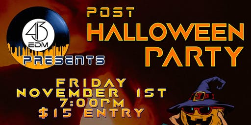 413 EDM Halloween Costume Party