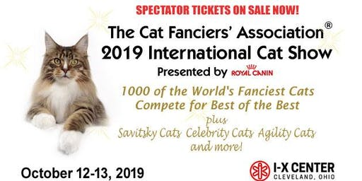 CFA International CAT SHOW 2019 - Presented by Royal Canin