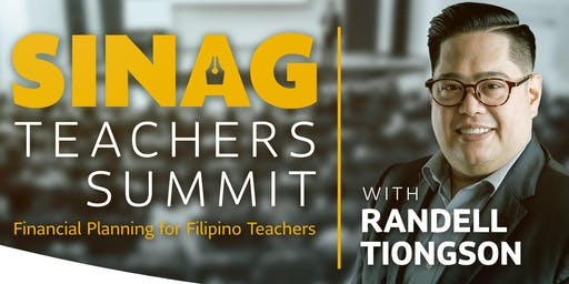 Sinag Teachers Summit with Randell Tiongson