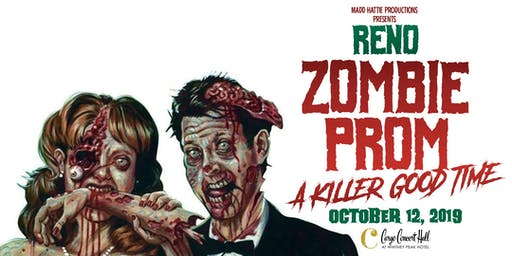 Reno Zombie Prom 19' at Cargo Concert Hall