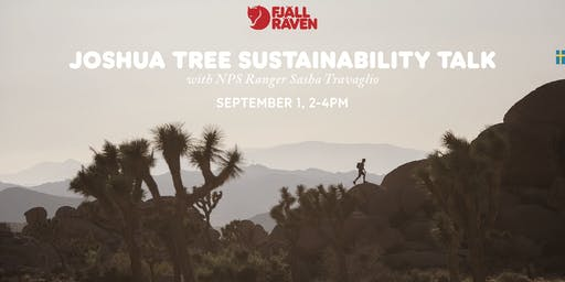 Joshua Tree Sustainability Talk with NPS Ranger Sasha Travaglio