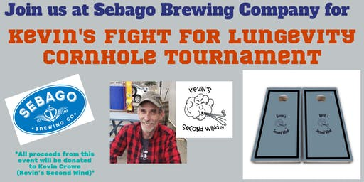 Kevin's Fight for LUNGevity Cornhole Tournament Fundraiser