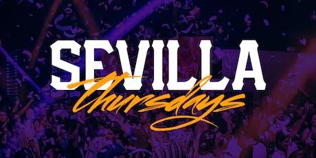 The NEW NEW Thursday Nights with DJ KRUCIAL - Sevilla LONG BEACH tickets