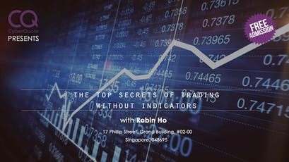 Robin Ho - The Top Secrets of Trading Without Indicators tickets