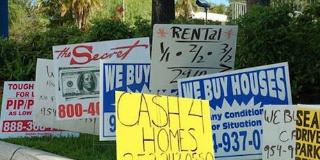 Cease and Desist Zone Canvass to End Real Estate Speculation and Harassment tickets