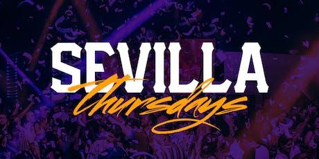 The NEW NEW Thursday Nights with DJ LEZLEE - Sevilla LONG BEACH tickets