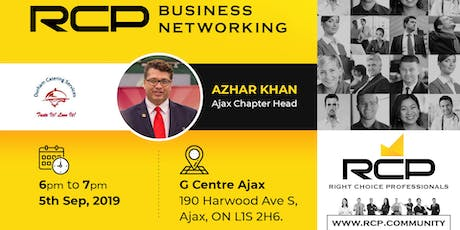 RCP Business Networking tickets