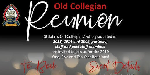 St John's Old Collegians Reunion Night