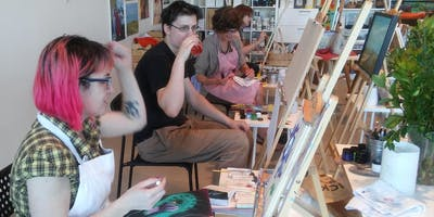 Paint & Sip Saturday November 9th, 16th or 23rd