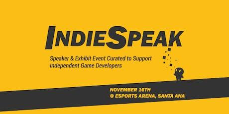 IndieSpeak tickets