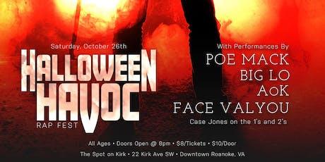 Halloween Havoc Rap Fest tickets