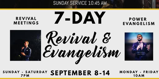 Holy Ghost Revival Meetings - Have An Experience You Will Not Forget