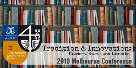 2019 Melbourne Conference BSANZ/ALHF tickets