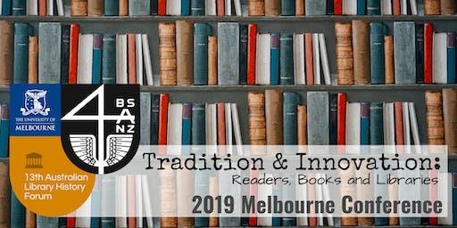 2019 Melbourne Conference BSANZ/ALHF