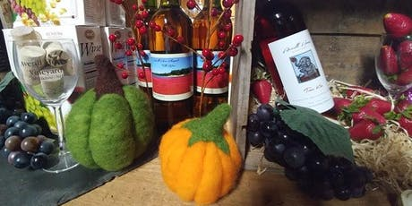 Felted Pumpkin Making & Autumn Wine Tasting tickets