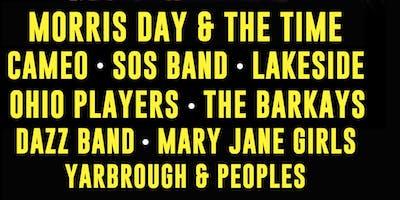 Morris Day & Time, Cameo, SOS Band, Lakeside, Ohio Players & More!