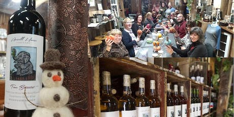 Felted Snowman Making & Fall Wine Tasting tickets