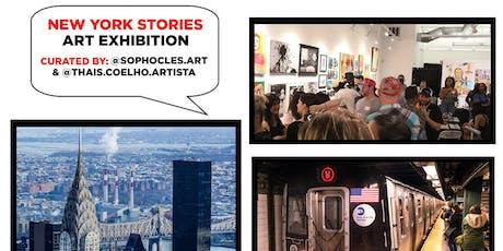 New York Stories Art Exhibition tickets
