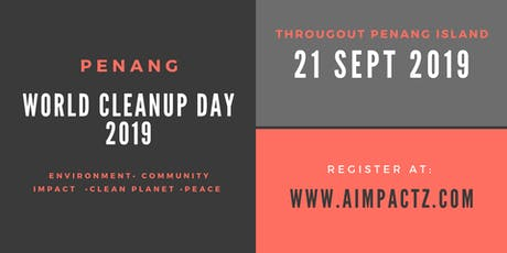Penang World Cleanup Day 2019 tickets