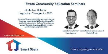 Strata Community Education Seminar - Gold Coast tickets