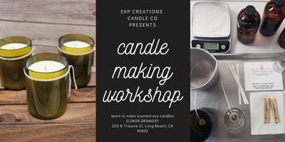 September Candle Making Class #2