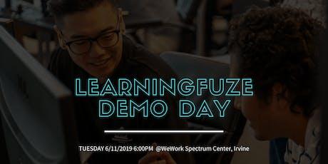LearningFuze Demo Day @WeWork -Spectrum Center, Irvine tickets