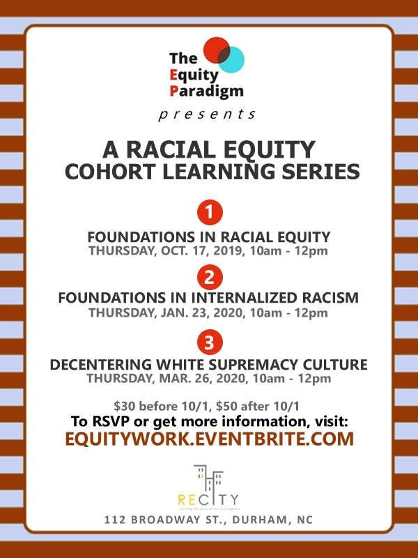 Racial Equity Cohort Learning Series