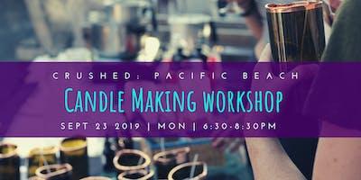 Candle Making Workshop @ Crushed