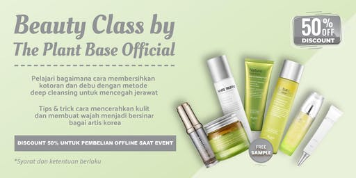 Beauty Class by The Plant Base