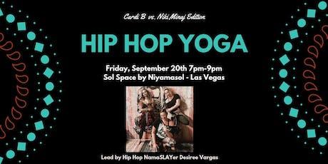 Hip Hop Yoga Workshop - Cardi B vs. Nicki Minaj Edition tickets