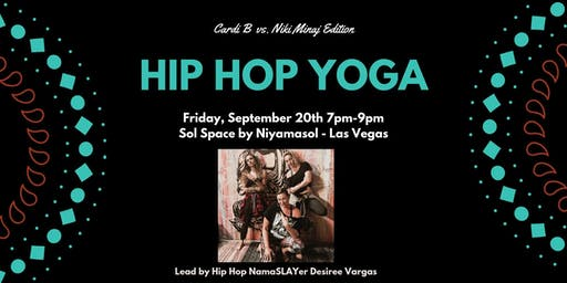 Hip Hop Yoga Workshop - Cardi B vs. Nicki Minaj Edition