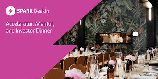 Accelerator, Mentor & Investor Dinner